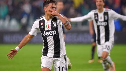 VIDEO. Dybala scoort al na 45 seconden, Juventus opnieuw aan het feest