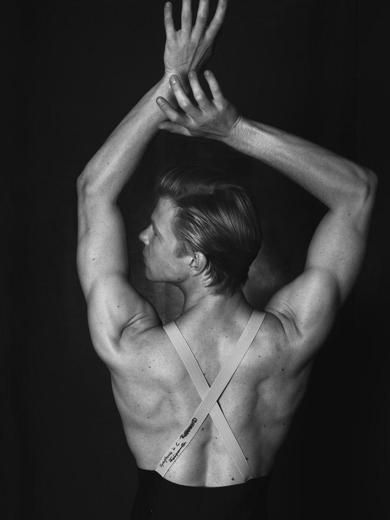 Danser Martijn Rademaker. Beeld Robin De Puy