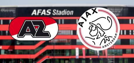 AZ en Ajax spelen kraker van het weekend
