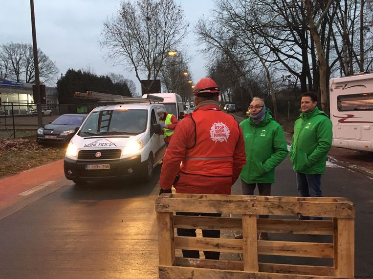 Filterblokkades in Limburg.