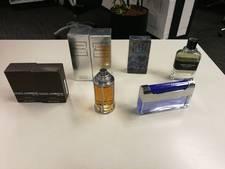 Parfumdieven in Nijverdal aangehouden
