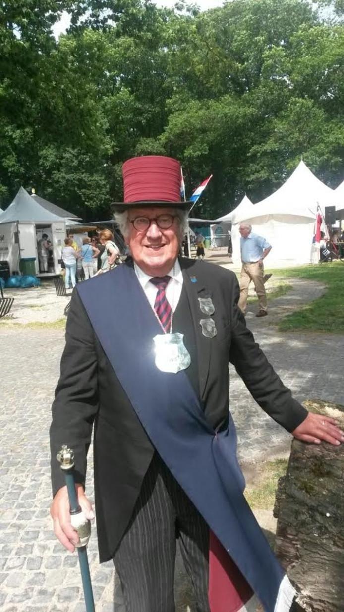 Bert Sidler van het Vughtse gilde werd koning bij de Kringgildedag in Gestel.