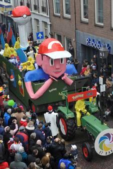 Carnavalsoptochten kleuren Boskoop en Montfoort