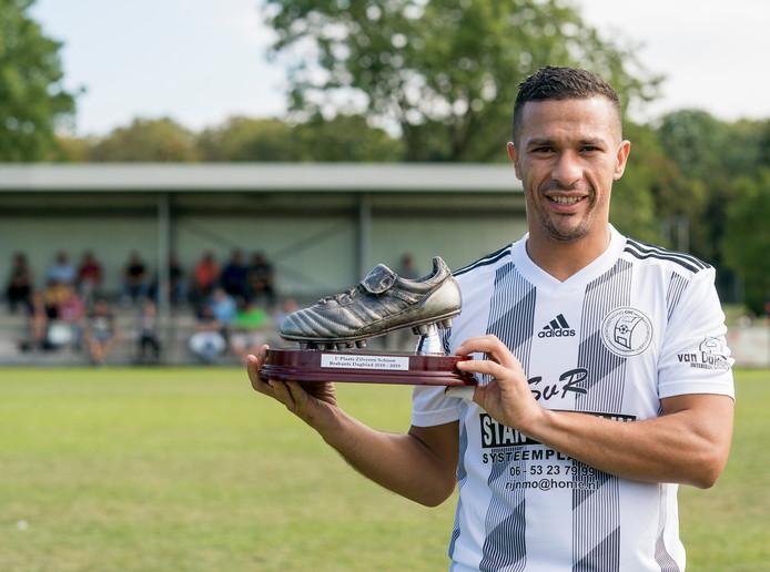 CHC speler Younes Hadouir met zilveren schoen 2019.