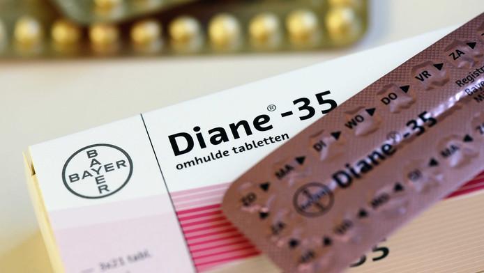 De Diane-35 pil.