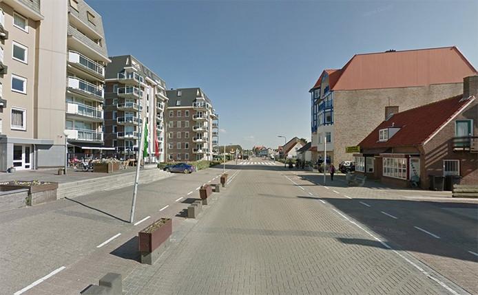 Boulevard De Wielingen in Cadzand-Bad.