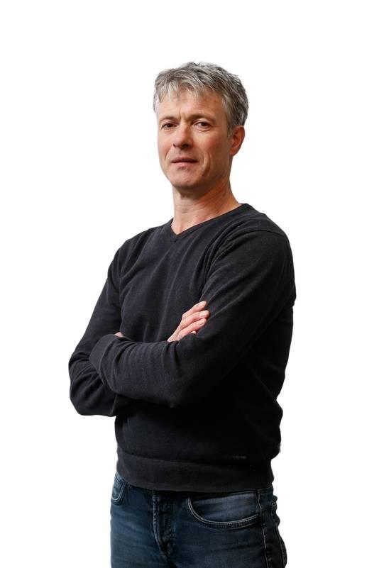 René Vermunt (49) uit Etten-Leur is boer sinds 1993. Hij is eigenaar, werkman en tevens docent voor de MAS.