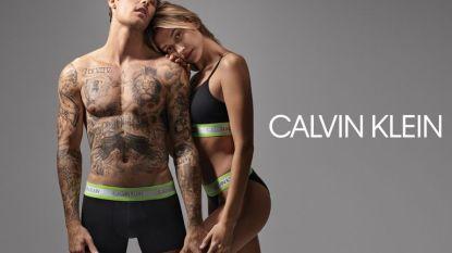 Justin en Hailey Bieber schitteren in ondergoed voor Calvin Klein