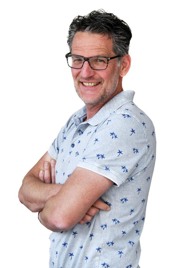 Enschede - Bert Holst redacteur redactie Oldenzaal Enschede voor column editie EN  Foto Carlo ter Ellen DTCT  CTE20180518