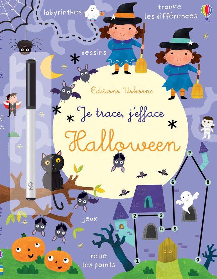 Je trace, j'efface sur le thème d'Halloween.