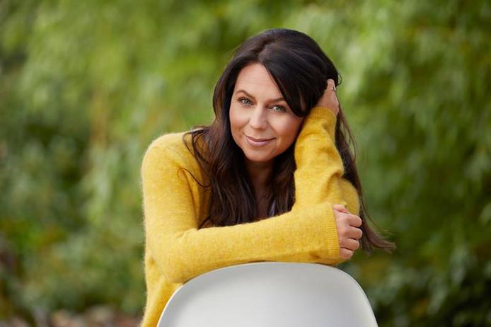 Kristel Verbeke zal de cheque voor het Kinderarmoedefonds in ontvangst nemen