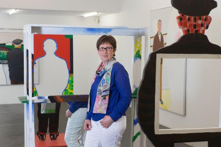 Marleen De Muer, de weduwe van kunstenaar Roger Raveel.
