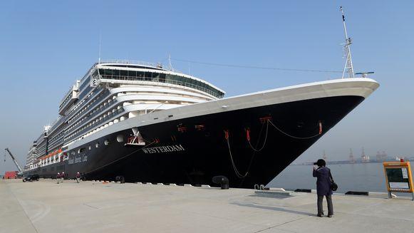 Het Nederlandse cruiseschip Westerdam.