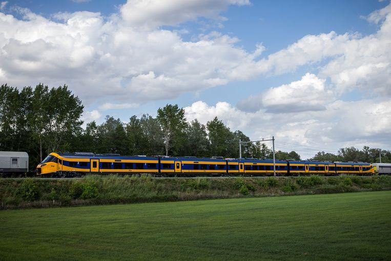 De nieuwe intercity van de NS zal straks bijdragen aan een frequentere dienstregeling. Beeld Hollandse Hoogte /  ANP