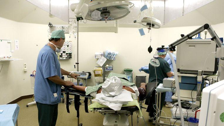 Een operatie in het Kennemer Gasthuis in Haarlem. Beeld ANP