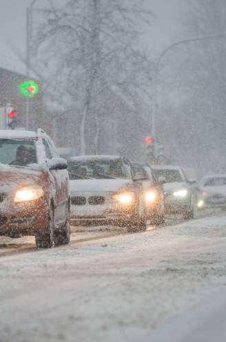 Code geel: gevaarlijk gladde wegen door sneeuw en ijs