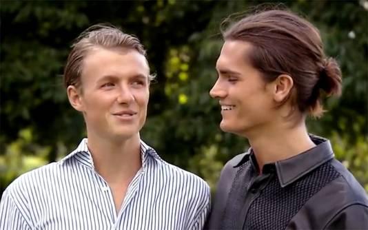 Gigi en Koen (rechts).