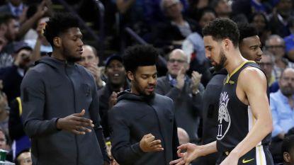 VIDEO. Warriors walsen over Spurs in NBA, Bucks boeken veertigste zege