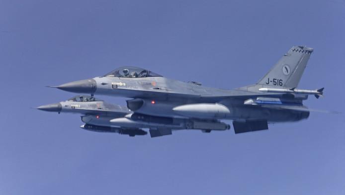 Nederlandse F16's