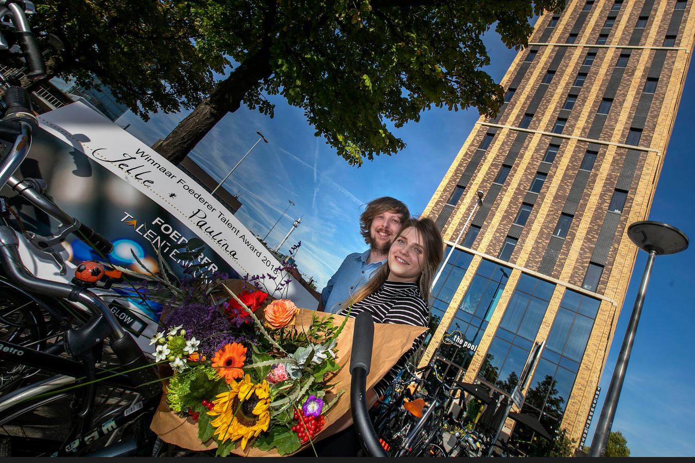 Jelle van Meerendonk en Paulina Zybinska zijn winnaar van de Foederer Talent Award.