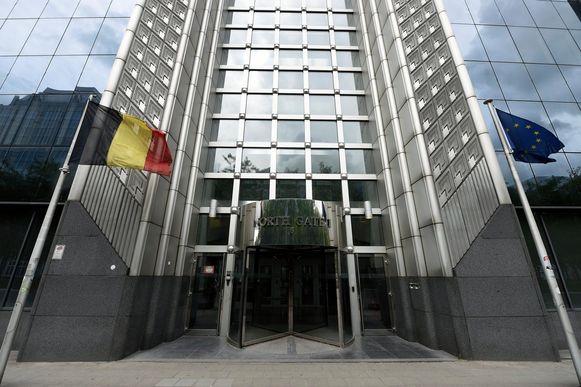 De zetel van de Staatsveiligheid in Brussel.