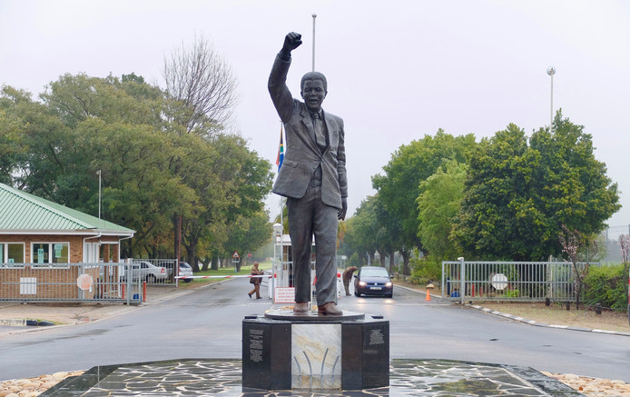 De voormalige Victor Verster Prison, de laatste gevangenis vanwaar Mandela is vrijgelaten.