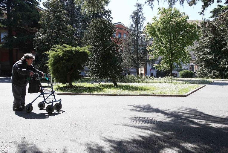 het katholieke tehuis, Fondazione Sacra Famiglia, in Cesano Boscone. Beeld AP