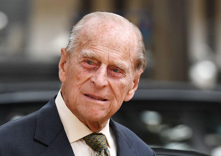 Prince Philip, de echtgenoot van de Britse Queen.