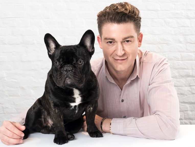 Jani en zijn hond Qozmo.