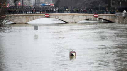Code oranje: Seine meer dan vier meter hoger dan normaal in Parijs