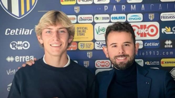 Daan Dierckx jongste speler in Serie A voor Parma dat op de valreep gelijkspel moet toestaan tegen Sassuolo