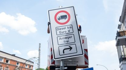 Eerste Duitse dieselverbod op 31 mei van kracht in Hamburg