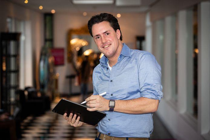 Daan Dohmen, ontwikkelaar van corona-app.