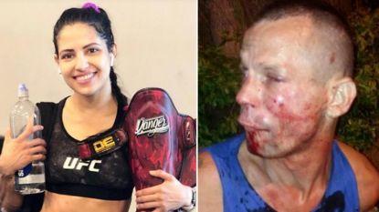 Overvaller is uit op gsm, maar heeft pech: slachtoffer blijkt MMA-vechtster te zijn