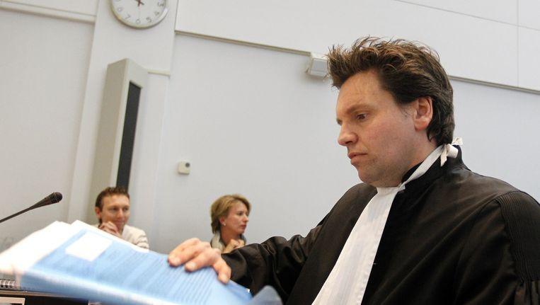 Frank van Gaal, de advocaat van Ernst Jansen Steur Beeld ANP