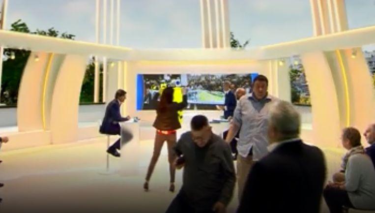 Het debat werd live uitgezonden op  RTL-TVi