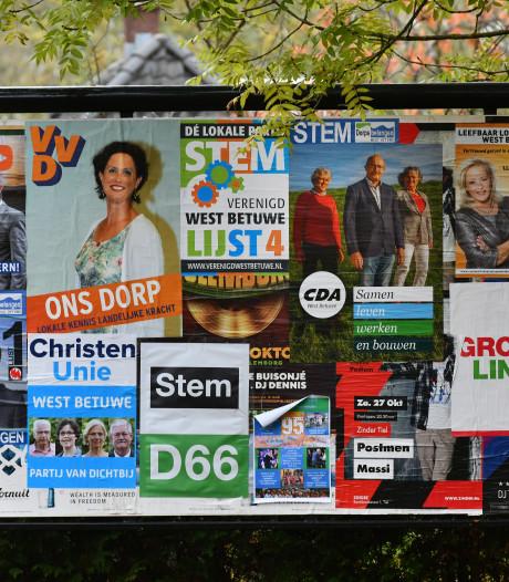 Posten, tweeten en liken met West Betuwse partijen