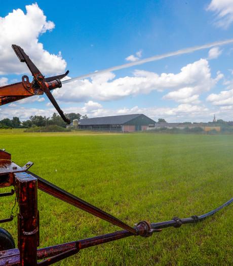 Grasland beregenen met grondwater onder voorwaarden toegestaan