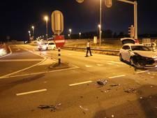 Auto's op elkaar op afrit A2 bij Maarssen