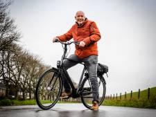 """Edze fietst graag naar zijn werk. ,,Binnen een jaar was ik vijftien kilo kwijt"""""""