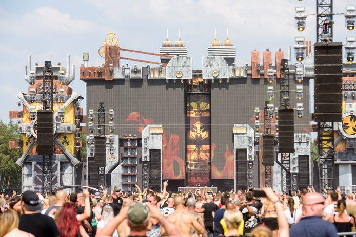 EERSEL - Dominator festival E3 strand