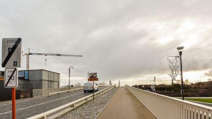 Leiebrug vrijdagavond afgesloten door Franco-Belge Run