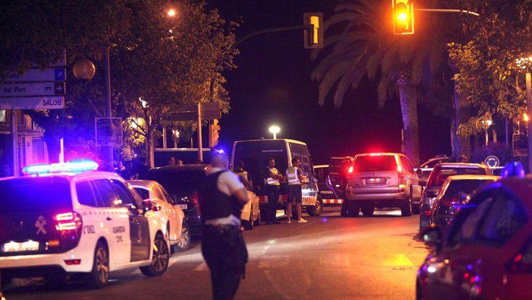 Politieacties in Cambrils Beeld anp