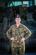 Commandant Rob ten Horn van 41 Afdeling Artillerie. Zijn afdeling stuurt begin volgend jaar vijf pantserhouwitsers en pakweg veertig mensen naar Litouwen.