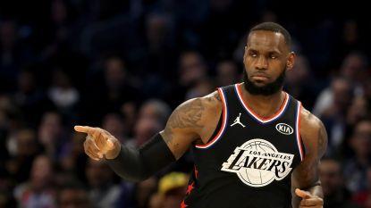 Team LeBron wint All-Star Game, Kevin Durant verkozen tot MVP