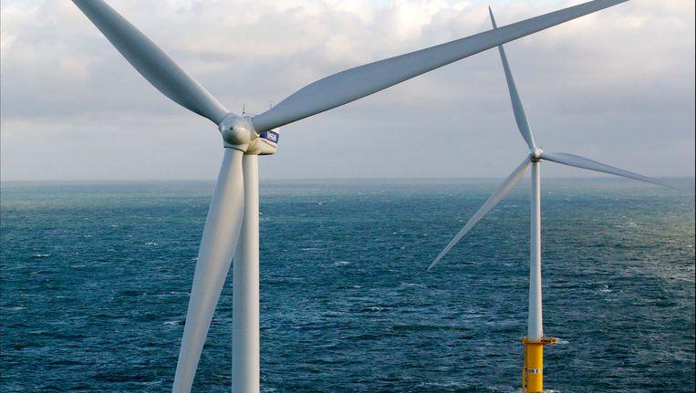 Windmolenpark in Belgie. Beeld Photo News