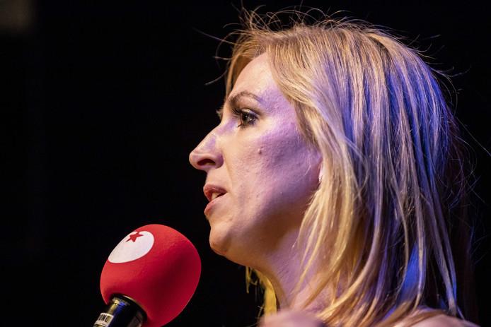 Partijleider Lilian Marijnissen van de SP