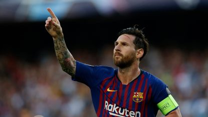 LIVE. Messi maakt met puntgave vrije trap verschil in eerste helft tegen PSV, dat prima voor de dag komt