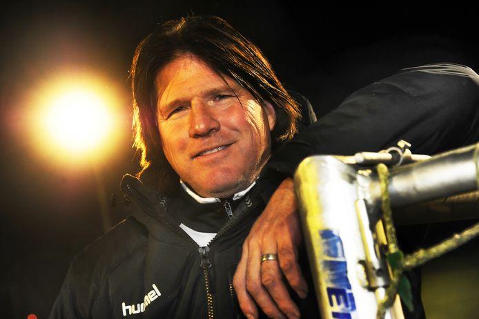 Veere-trainer Danny Magito.