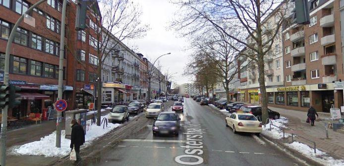 De Osterstrasse in Hamburg-Eimsbüttel telt drie bankfilialen.